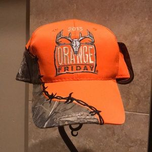 Realtree Orange Hunters Hat New with Tags
